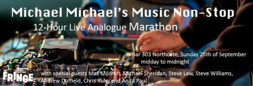 Michael Mildren's Music Non-Stop: 12 Hour Live Analogue Marathon