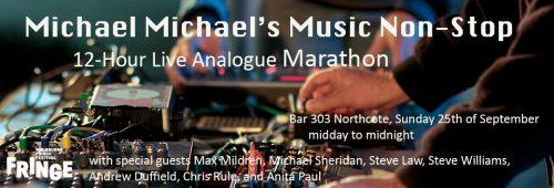 Michael Mildren's Music Non-Stop: 12 Hour Live Analogue Marathon