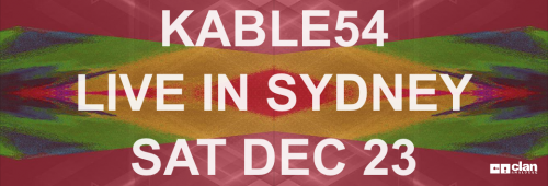 Kable54 launches Volca Galaxies at The Record Crate Sydney