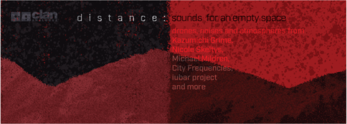 CA054: Distance: Sounds for an Empty Space  | Various Artists